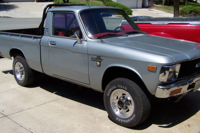 1979 Chevrolet Luv 4x4 Pickup 18l 110 Ci 4 Speed Manual For Sale