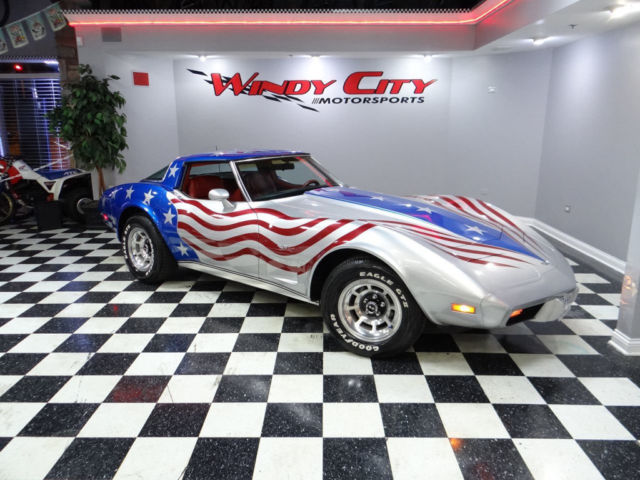 Corvette Flag Paint Job