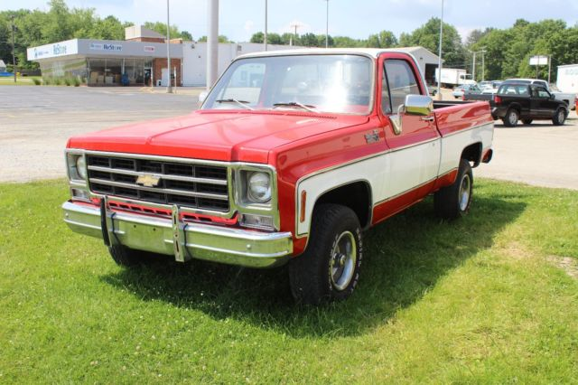 1979 Chevy K10 Custom Deluxe 4x4 Short Bed For Sale