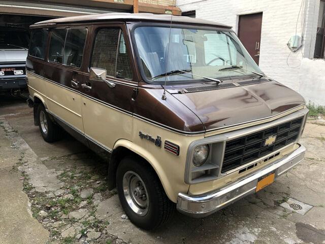 1979 Chevy Survivor Sportvan Shorty Van G10 G20 Gmc Vandura For Sale Photos Technical Specifications Description