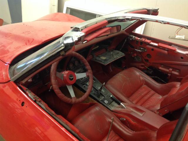 Corvette Engine Manual Transmission Rusted Frame