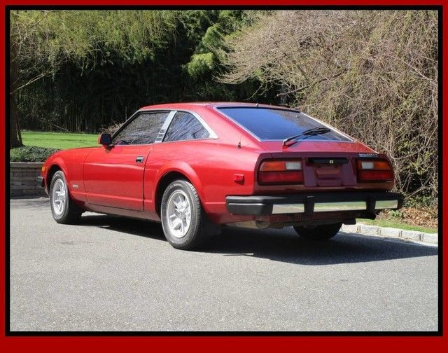 1979 Datsun 280zx Red Coupe Manual