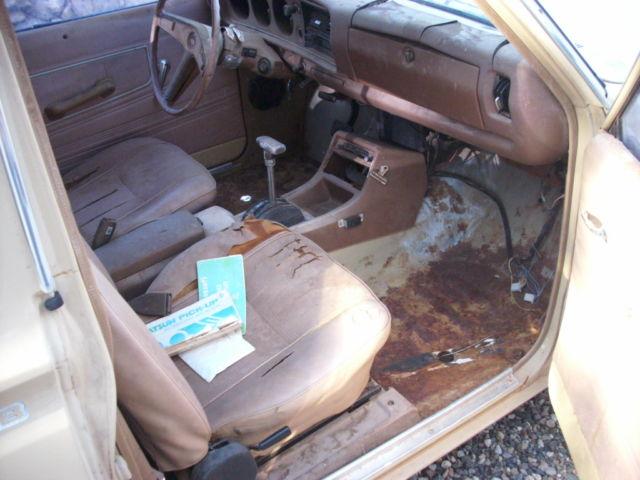 1979 Datsun 620 King Cab Bulletside for sale in Cottonwood ...