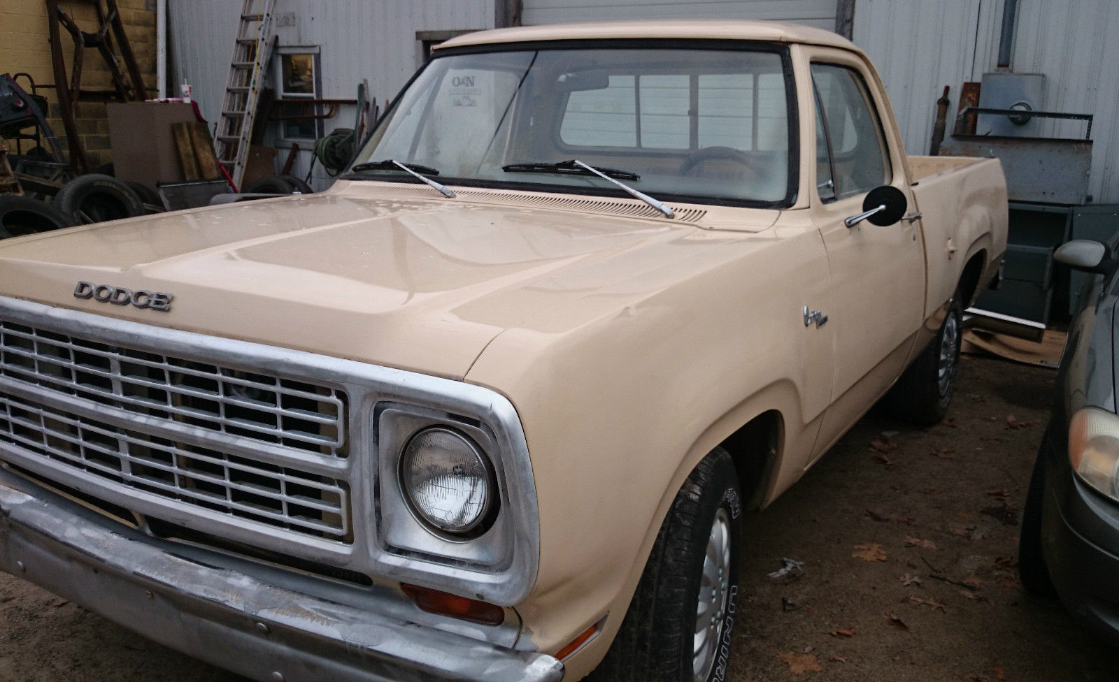1979 Dodge D100 Custom Short Bed Pickup 2wd W 225 Slant 6