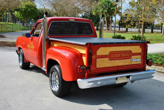 1979 dodge other pickups d15 lil 39 red express truck 38 876 actual. Cars Review. Best American Auto & Cars Review