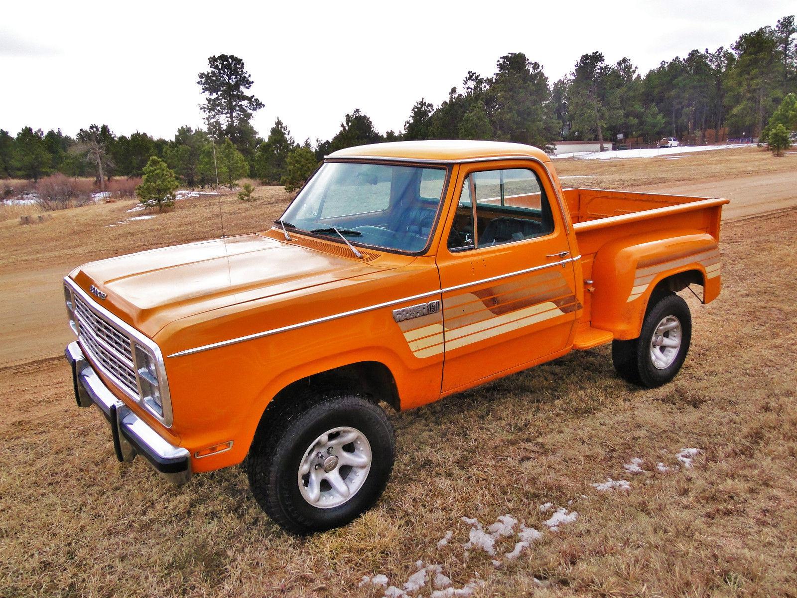 1979 Dodge Power Wagon Round Up Very Rare Survivor Warlock