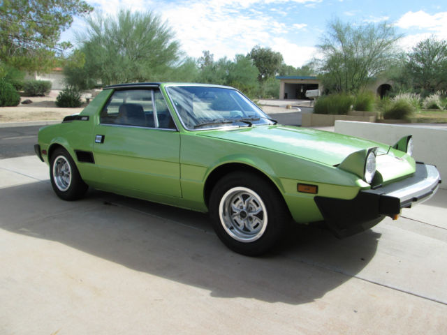 1979 Fiat X1 9 Original Arizona Car For Sale In Phoenix
