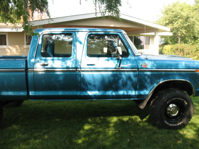 1979 Ford F250 4x4 Crew Cab Xlt For Sale In Colbert