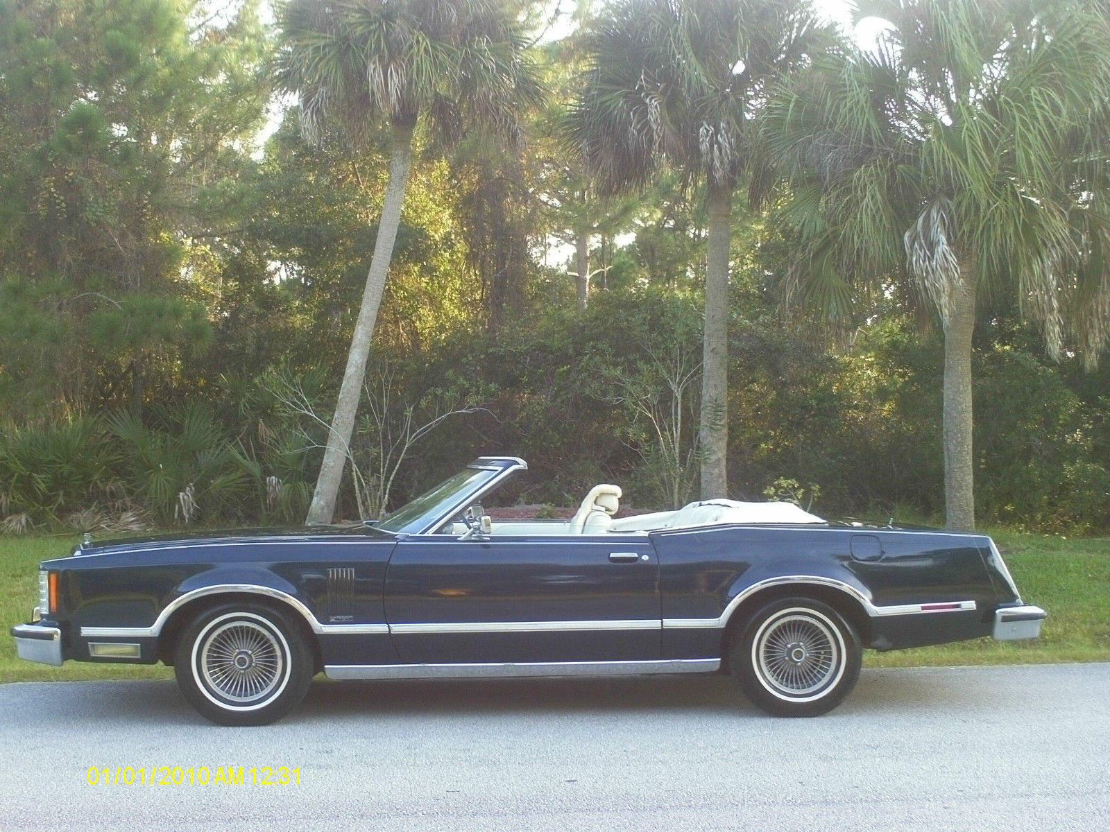 1979 ford thunderbird convertible 2 door 5 0l w 63000 actual miles runs great for sale in palm. Black Bedroom Furniture Sets. Home Design Ideas