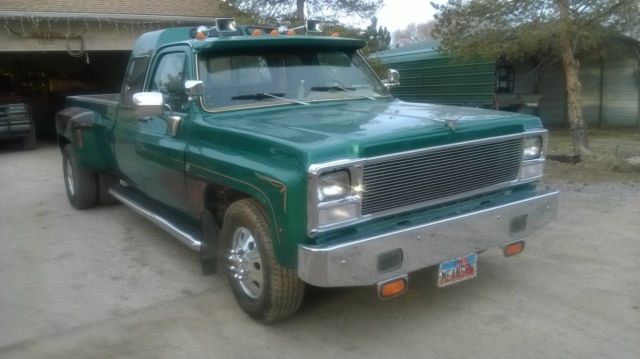 1979 Gmc Custom Dually With Detroit Diesel Engine And 13