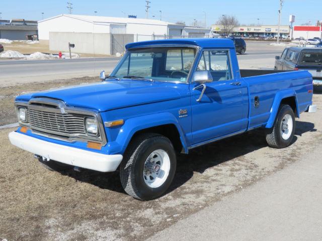 1979 j10 jeep pick up truck rare find for sale in west. Black Bedroom Furniture Sets. Home Design Ideas