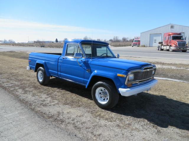 1979 j10 jeep pick up truck rare find for sale in west burlington iowa united states. Black Bedroom Furniture Sets. Home Design Ideas