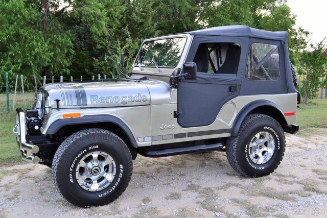 1979 jeep cj cj 5 renegade custom build no reserve for Cj custom homes