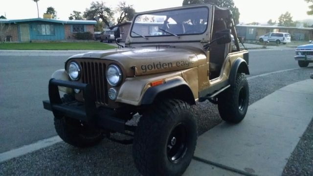 1979 jeep cj5 golden eagle v8 mechanical restoration 4 inch lift 35 inch tires for sale in. Black Bedroom Furniture Sets. Home Design Ideas