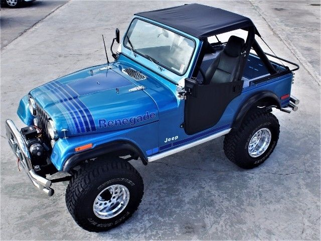 Jeep Renegade Lifted >> 1979 Jeep CJ5 Renegade 1 Miles Blue V8 Mamual for sale: photos, technical specifications ...