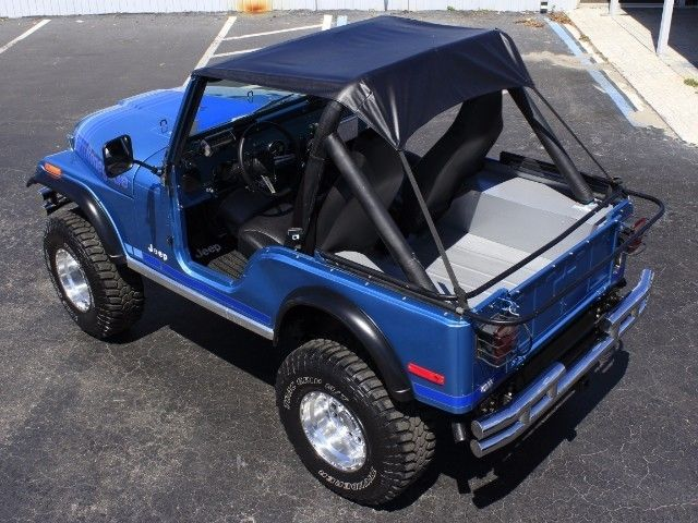 Lifted Jeep Renegade >> 1979 Jeep CJ5 Renegade 1 Miles Blue V8 Mamual for sale: photos, technical specifications ...