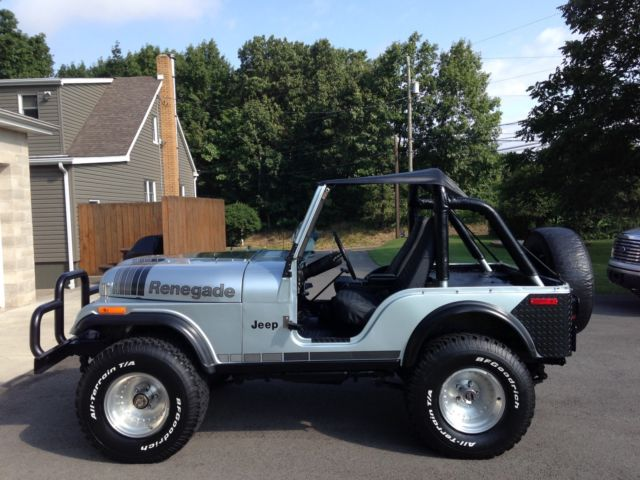 1979 Jeep Cj5 Renegade New Crate 360 Amc 3 Speed Manual 33 Bf S For Sale Photos Technical Specifications Description