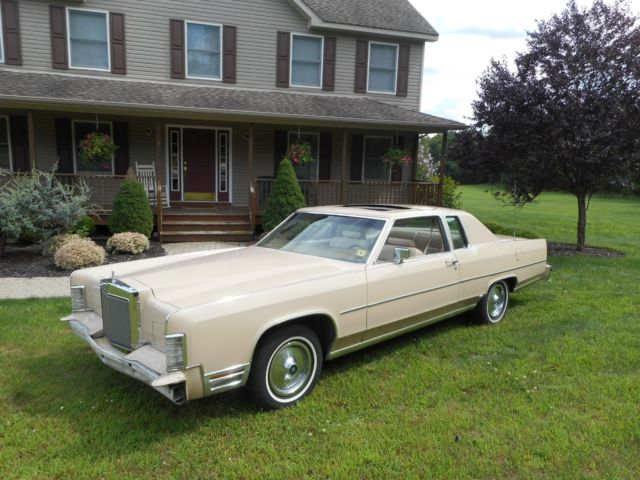 1979 lincoln town car all orig stored 20 years factory mnrf cb 100 solid. Black Bedroom Furniture Sets. Home Design Ideas