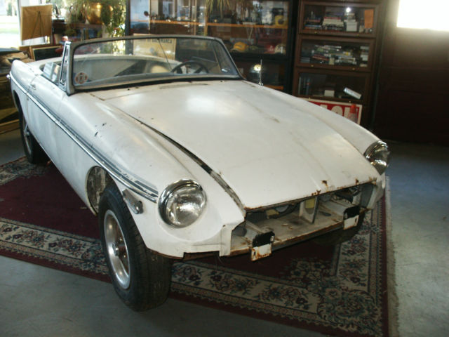 1979 MBG Convertible Project Car Unfinished Restoration Or Race For Sale In Ono Pennsylvania United States
