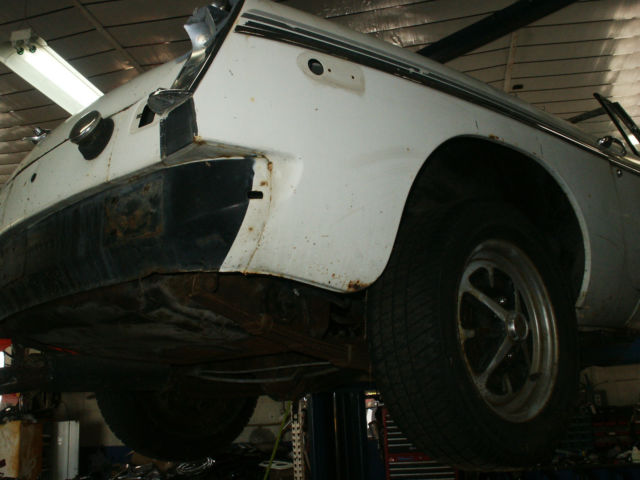 1979 MBG Convertible Project Car Unfinished Restoration Or Race