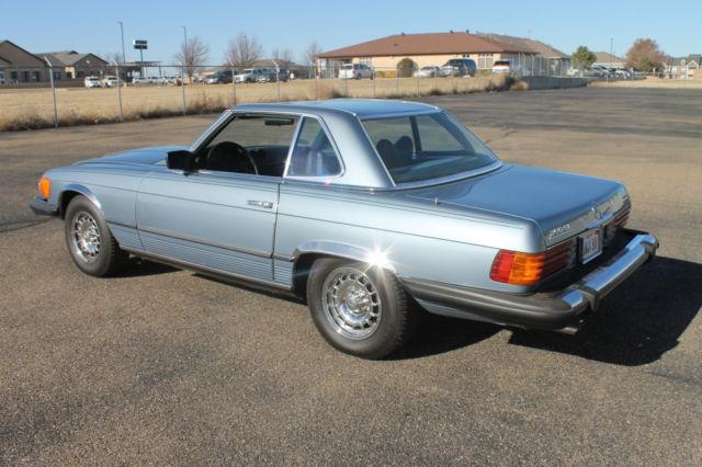 1979 mercedes 450sl 2 tops 72146 original miles all for Mercedes benz books