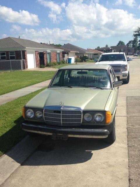 1979 mercedes benz 300 d diesel for Mercedes benz 300 diesel