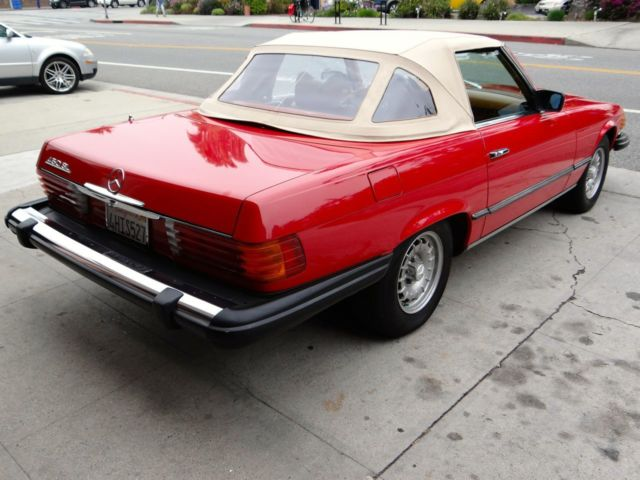 1979 mercedes benz 450sl in immaculate condition for sale for Mercedes benz service santa monica