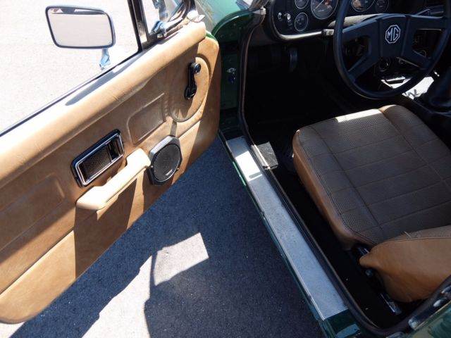 1979 mgb convertible green with black top tan interior 5 speed manual. Black Bedroom Furniture Sets. Home Design Ideas