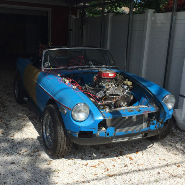 Mgb Wchevy Hot Rod Project Car