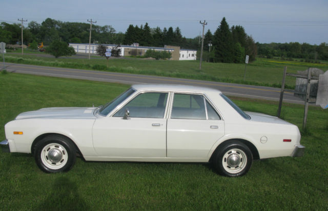 Cop Cars For Sale >> 1979 Plymouth Volare Pursuit Police Car, E58, D36, 360-V8, 727, 3.21 Sure-Grip for sale in ...