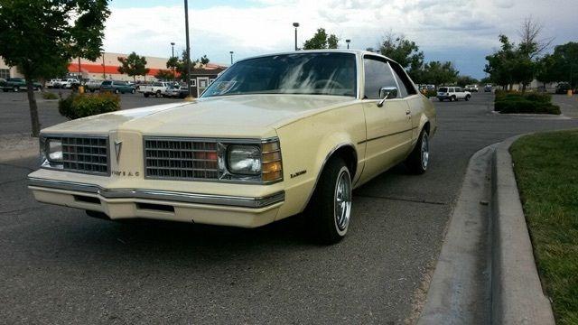 1979 Pontiac Grand Lemans Base Coupe 2 Door 4 9l For Sale