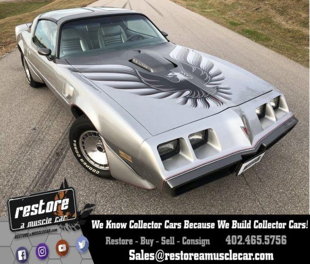 1979 pontiac trans am 62031 miles platinum silver metallic for Perry motors bishop ca