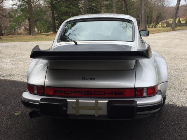 1979 Porsche 930 Turbo Silver 26k Miles Documented History