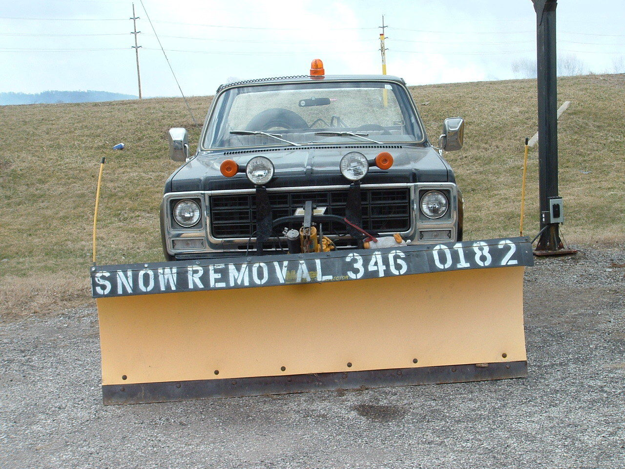 1979 Scottsdale 3 4 Ton 4x4 Long Bed W Meyer Poly Plow Original Wiring Diagram For Manual Chevrolet Other Snow