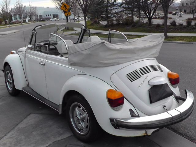 1979 VW Super Beetle Convertible