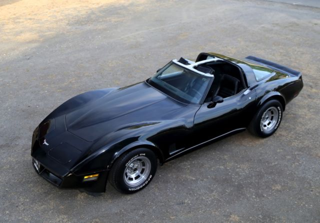 1980 350 4 speed chevy corvette t top 4sp stick shift stingray a c car 70k miles for sale in. Black Bedroom Furniture Sets. Home Design Ideas