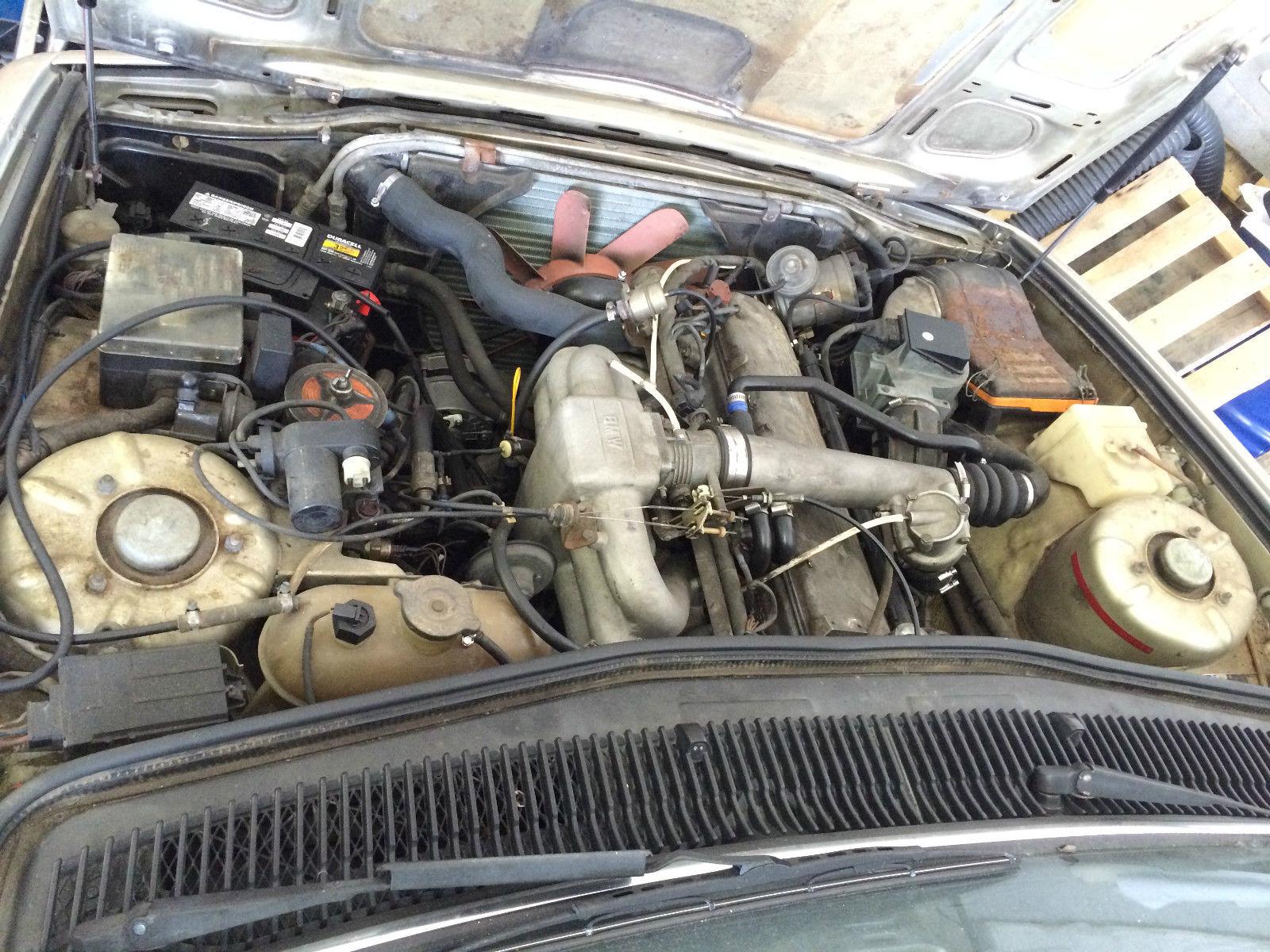 1980 BMW 745i E23 Turbo German import with 68K original miles for ...