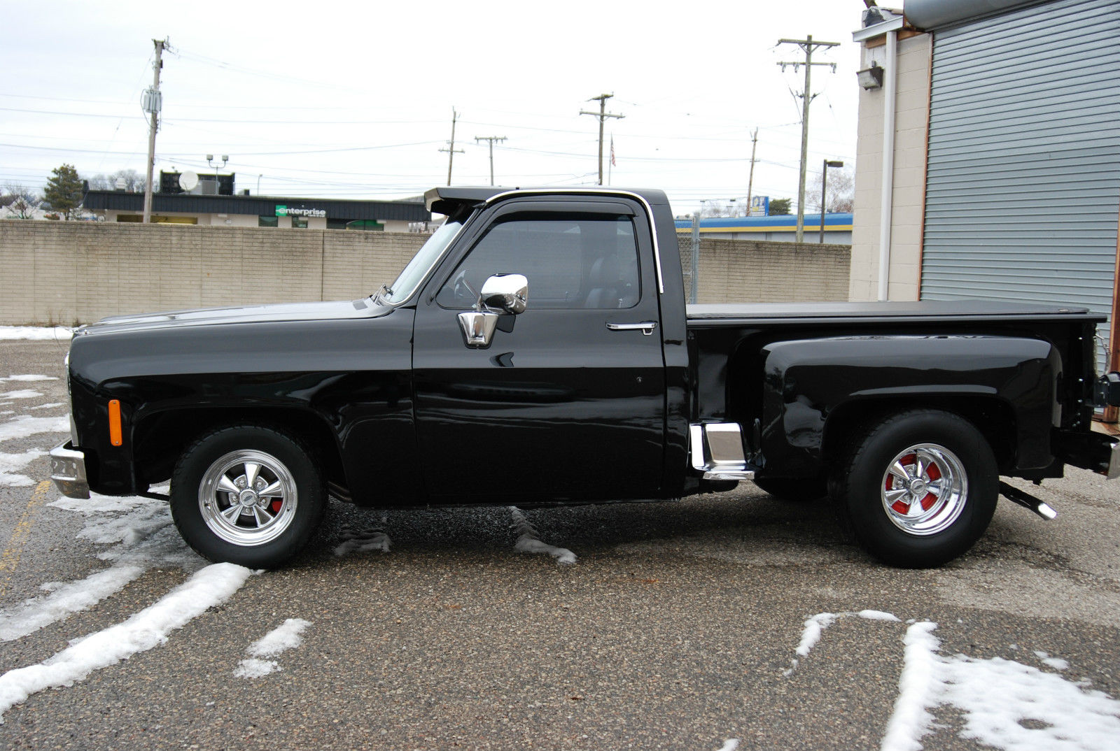 1980 chevrolet c10 short bed step side deluxe custom air ride lowered for sale in troy michigan for 1980 chevy truck interior parts