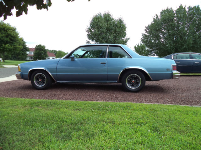 1980 chevrolet malibu classic sport coupe 2 door 4 4l for sale in mullica hill new jersey. Black Bedroom Furniture Sets. Home Design Ideas