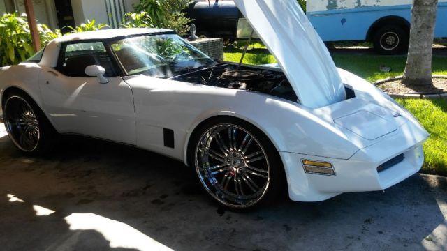 Chevy Corvette Kept In Garage Runs Great Custom Wheels Wife Says Has To Go