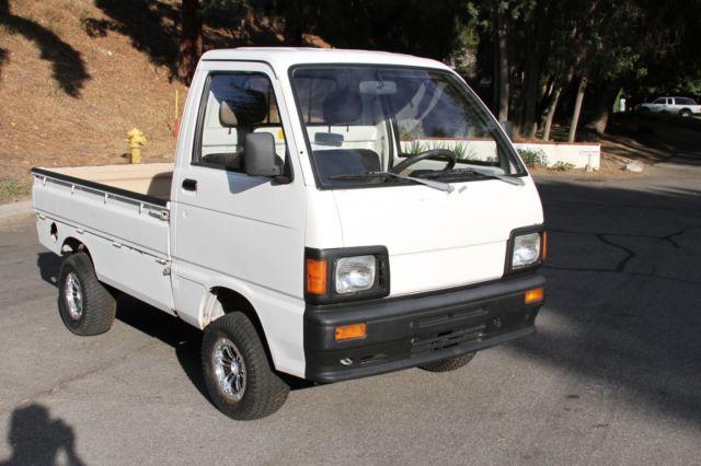 1980 daihatsu mini micro kei truck left hand drive street legal japanese rare for sale photos. Black Bedroom Furniture Sets. Home Design Ideas