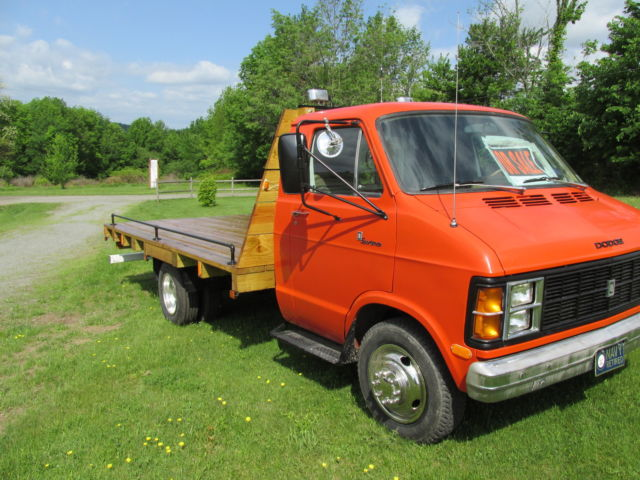 1980 DODGE MOTORHOME CONVERTED TO AN 8 X14 PX TREATED FLATBED TRUCK for sale in Springville ...