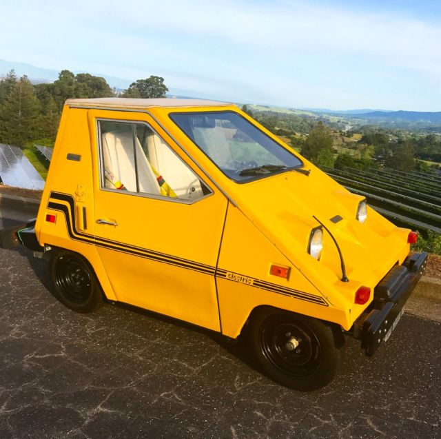 4800 Miles Only In Redwood City California United States: 1980 Electric Comuta-Car, Modernized
