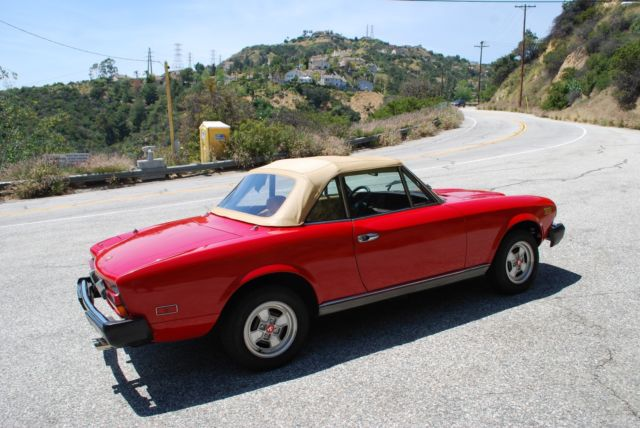 1980 fiat spider 2000 auto for sale  photos  technical