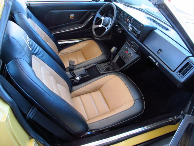 1980 fiat x1 9 bertone targa roadster super clean body new interior excel for sale in. Black Bedroom Furniture Sets. Home Design Ideas