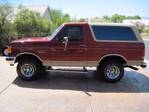 1980 ford bronco  eddie bauer edition  5 8l efi  power 1990 Ford Bronco 1975 Ford Bronco