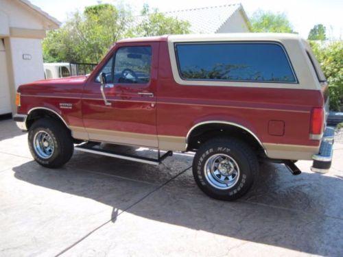 1980 ford bronco  eddie bauer edition  5 8l efi  power 1981 Ford Bronco 1975 Ford Bronco