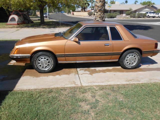 1980 Ford Mustang Ghia Sedan 2 Door 4 2l For Sale In Tempe
