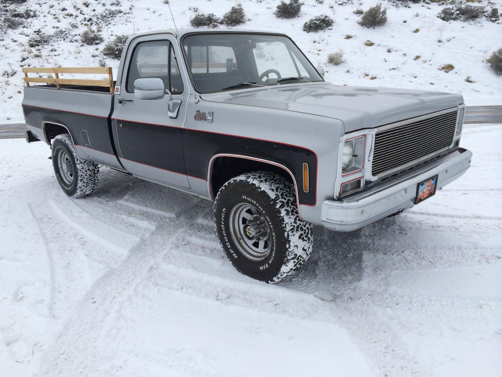 1978 gmc sierra grande 4x4   1978 78 GMC K20 3/4 ton 4x4 Four Wheel