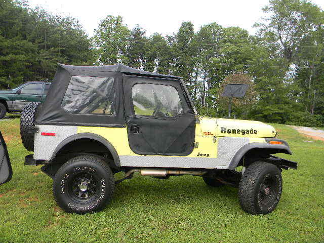 1980 Jeep Cj7 4x4 At Great Condition Runs Great Lots